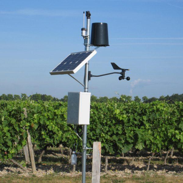 Stations météo connectées